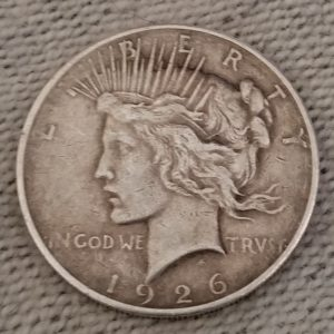 Peace Silver Dollar Lady Liberty