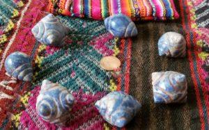 Chumpi Stones Blue
